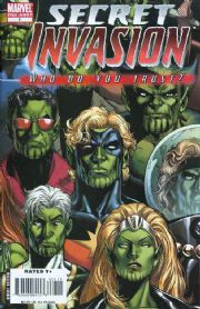 Secret Invasion Who Do You Trust? One Shot Marvel comic book
